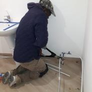 PLOMBERIE - Création salle de bain